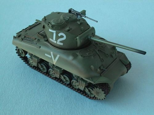 Easy Model 36250 M4A1 (76)W Middle Tank Israeli Armored Brigade, Easy Model