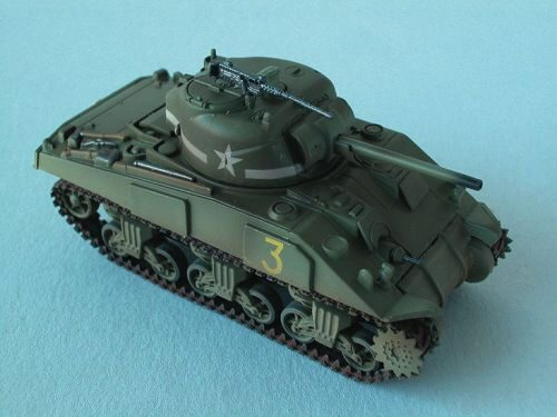Easy Model 36252 M4 Middle Tank (Mid.) 1st. Armored Div., Easy Model