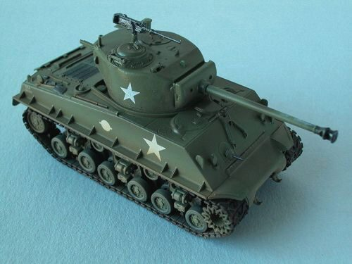 Easy Model 36257 M4A3E8 Middle Tank - U.S. Army Easy Model