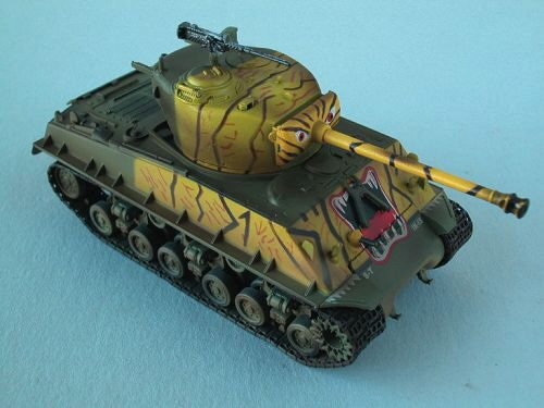 Easy Model 36258 M4A3E8 Middle Tan - 5th nf. Tank Co. 24th Inf. Div., Easy Model