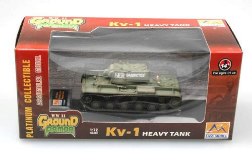 Easy Model 36276 KV-1 - Russian Army 1941 Green color