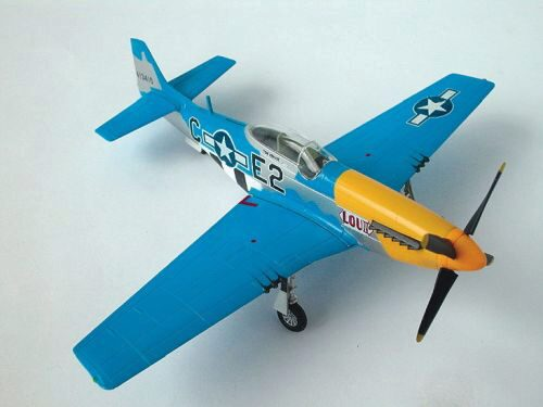 Easy Model 36301 P51D Mustang Louiv E2C 375th fs, 361th fg