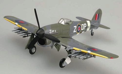 Easy Model 36312 Typhoon Mk. IB  MP195 DP-Z of No.193 Squadron, August 1944