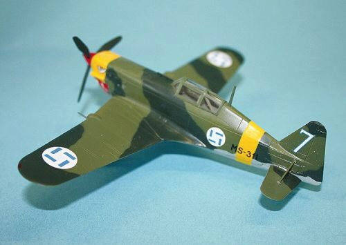 Easy Model 36326 MS 406 Finnland Airforce
