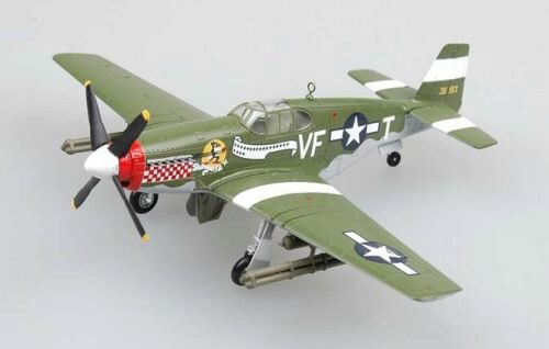 Easy Model 36359 P-51B Capt. D. Gentile, 336th FS, 4THFG