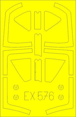Eduard Accessories EX576 Harrier T.2/T.4/T.8 for Kinetic
