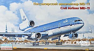 Eastern Express EE144102 Civil airliner MD-11 KLM
