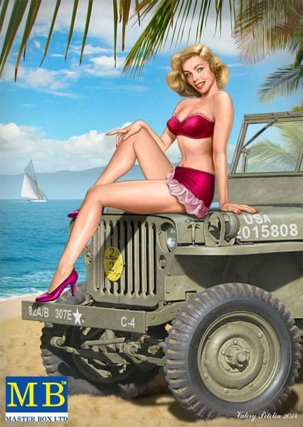 Master Box  MB24006 Pin-up series, Kit No.6 Samantha