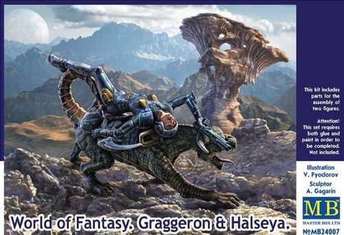 Master Box  MB24007 World of Fantasy.Graggeron & Halseya