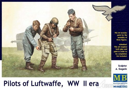 Master Box  MB3202 Pilots of Luftwaffe, WWII era. Kit 1
