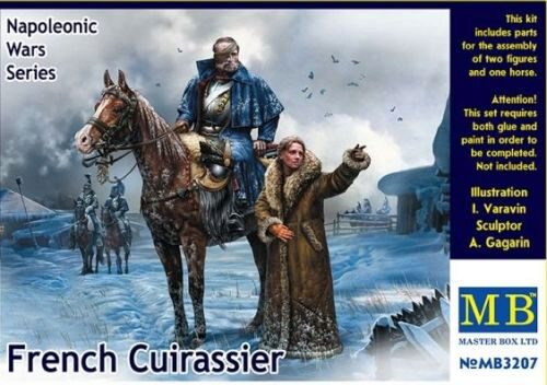Master Box  MB3207 French Cuirassier,Napoleonic War Series