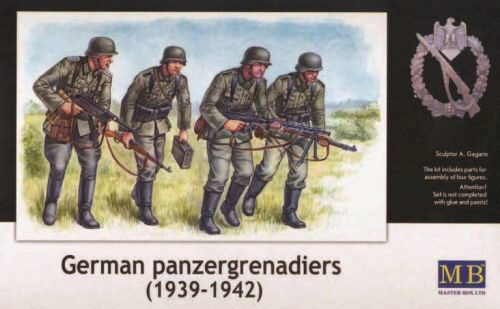 Master Box  MB3513 Deutsche Panzergrenadiere 1939-42