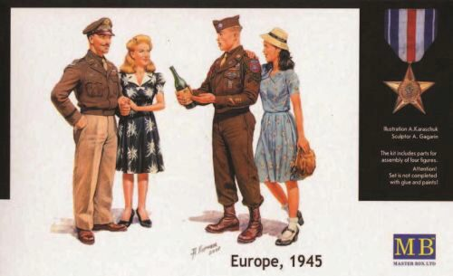 Master Box  MB3514 V-Day Europe 1945