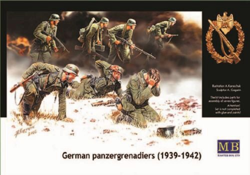 Master Box  MB3518 Deutsche Panzergrenadiere 1939-1942
