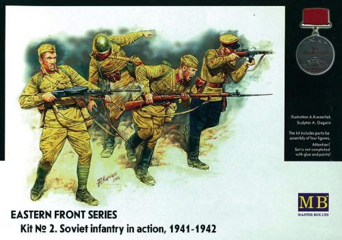 Master Box  MB3523 Soviet Infantry in action 1941-1942 Eastern Front Series