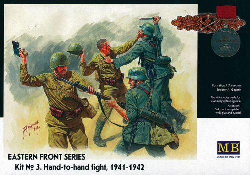 Master Box  MB3524 Hand to Hand Fight 1941-1942 Eastern Front Series