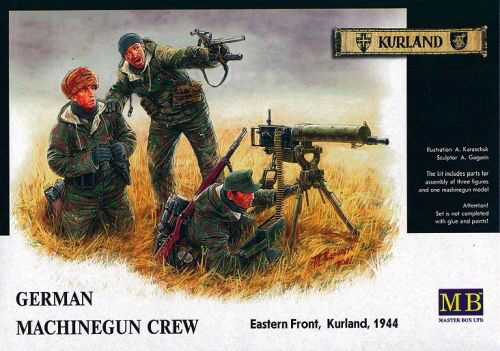 Master Box  MB3526 German Machinegun Crew Eastern Front Kurland 1944