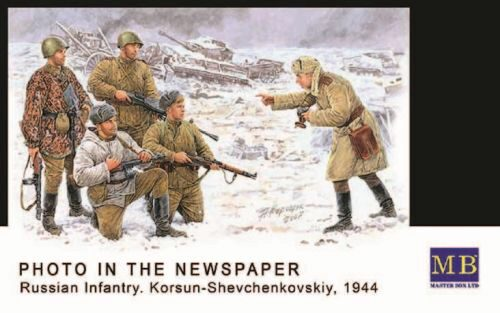 Master Box Ltd. MB3529 Russische Infanterie Korsun 1944 Photo for the Newspaper