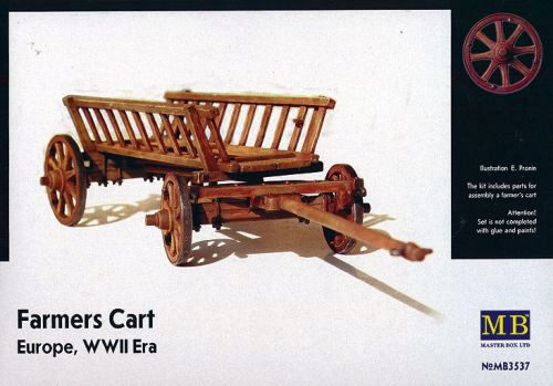 Master Box  MB3537 Farmers Cart Europe WWII