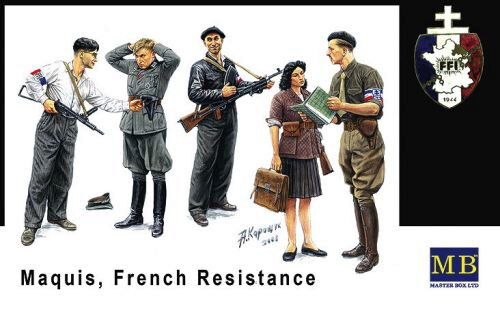 Master Box Ltd. MB3551 Maquis, French Resistance
