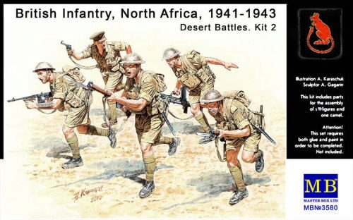 Master Box  MB3580 British Infantry North Africa Desert