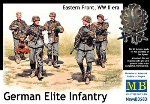 Master Box  MB3583 German Elite infantry,Eastern Front WWII