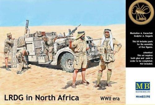 Master Box  MB3598 LRDG in Northern Africa