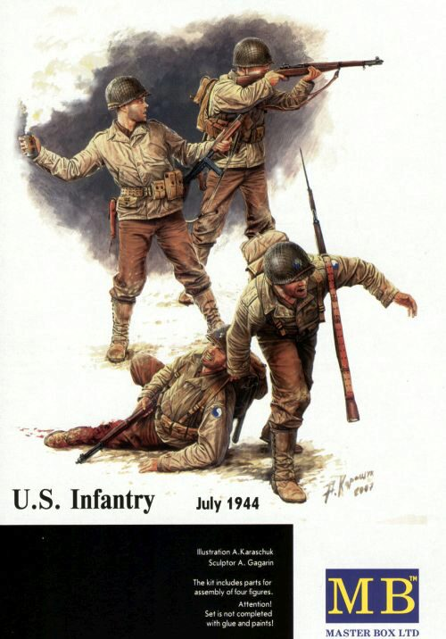 Master Box  MB3521 US Infantry 1944-45