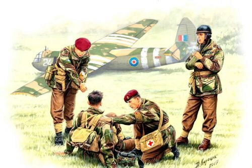 Master Box  MB3534 British Paratroopers WWII Rigid Landing Operation Market Garden 1944