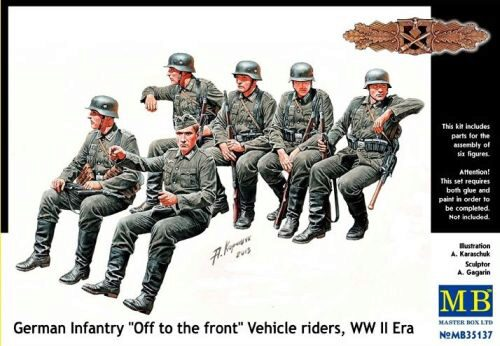 Master Box  MB35137 German infantry vehicle riders
