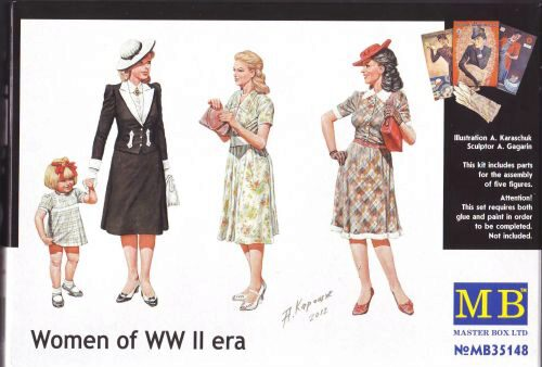 Master Box  MB35148 Women of WWII