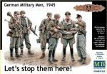 "Master Box  MB35162 Let´s stop them here"" German military me"