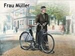 Master Box  MB35166 Frau Müller.Woman &woman`s bicycle Europ