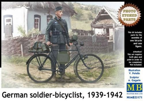 Master Box  MB35171 German soldier-bicyclist, 1939-1942