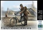 Master Box  MB35173 French soldier, WWII era