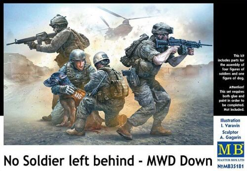 Master Box  MB35181 No Soldier left behind - MWD Down