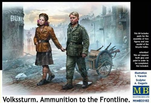 Master Box  MB35182 Volkssturm. Ammunition to the Frontline