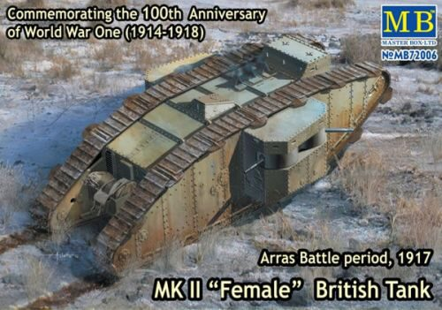 Master Box  MB72006 Mk II Female British tank.Arras Battle