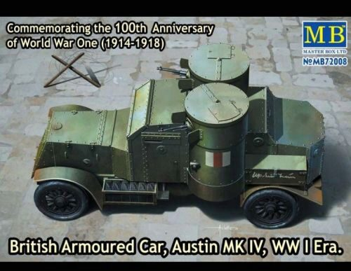 Master Box  MB72008 Austin Mk.IV British armored car,1914-18