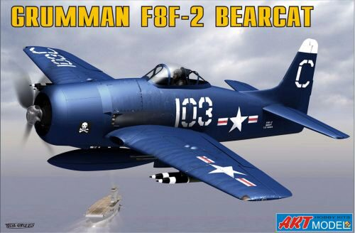 Art Model ART7201 Grumman F8F-2 BEARCAT USAF carrier