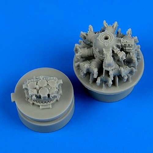 Quickboost QB72518 F4F-4 Wildcat engine for Airfix