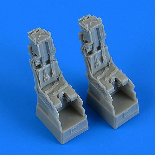Quickboost QB72551 F-14D Tomcat ejection seats with safety belts for Fujimi