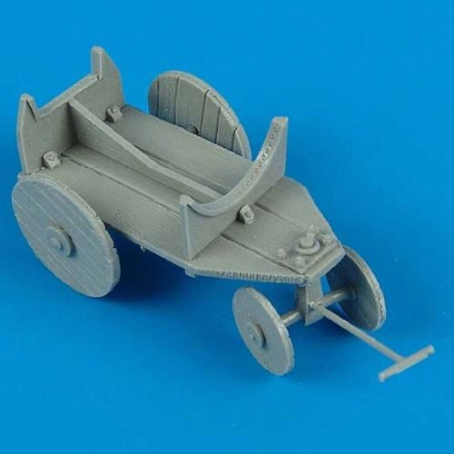Quickboost QB48 102 German WWII support cart for external fuel tank