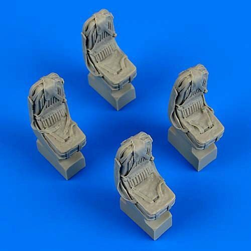 Quickboost QB48714 Kamov Ka-27 Helix seats witth safety belts for Hobby Boss
