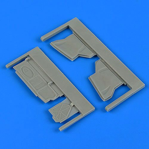 Quickboost QB48725 Su-25K Frogfoot undercarriage covers for KP/Smér