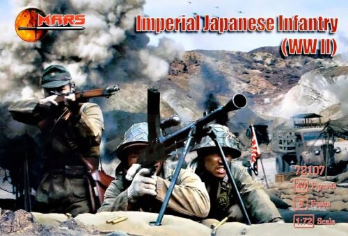 Mars Figures MS72107 WWII Imperial Japanese infantry