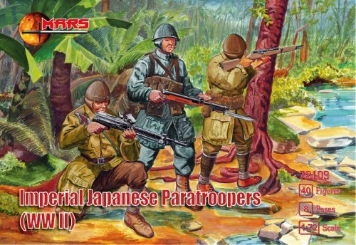 Mars Figures MS72109 WWII Imperial Japanese paratroopers