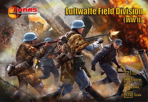Mars Figures MS72110 WWII Luftwaffe field division