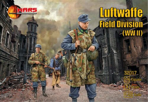 Mars Figures MS32017 WWII Luftwaffe field division