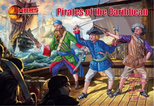 Mars Figures MS32020 Pirates of the Carribbean